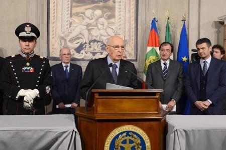 Napolitano-Giorgio-Quirinale