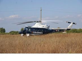 Manduria elicottero