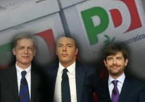 Primarie PD (Cuperlo, Renzi e Civati)