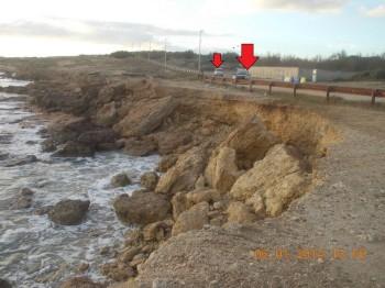 mirante erosione