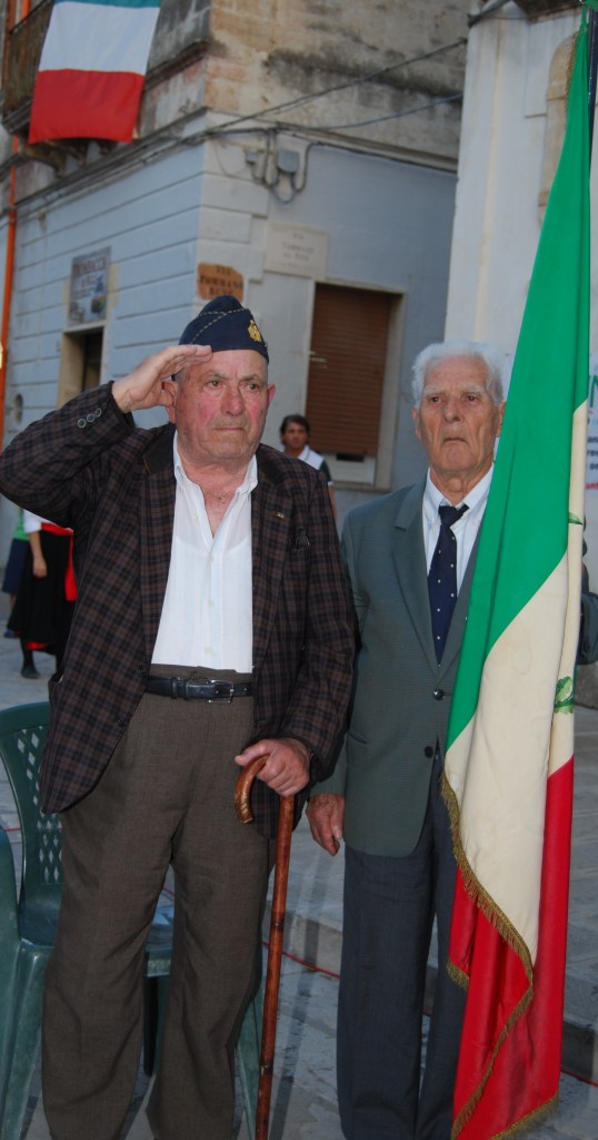 Da sinistra verso destra: Giovanni Filomena  e Luigi Pizzi
