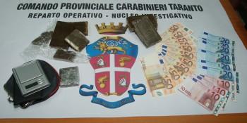 Torricella arresto per droga