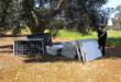 Maruggio - rinvenimento pannelli fotovoltaici