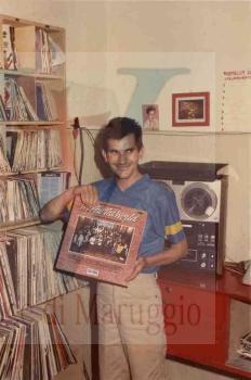 Franco Valentini -  in una foto del 1985 archivio personale Tonino Filomena