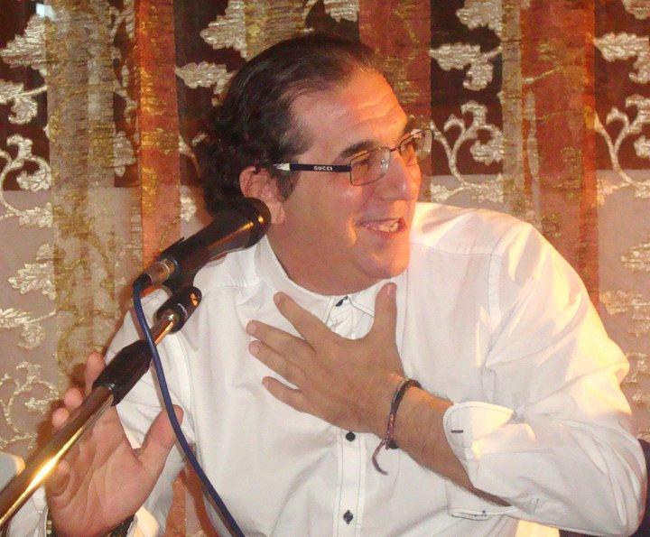 """Il critico letterario e scrittore Pierfranco Bruni che cura la rubrica """"Il Punto"""" per  La Voce di Maruggio."""