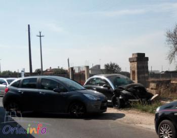 Incidente stradale sulla Manduria   Oria, bilancio 4 feriti