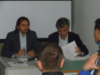 Nella foto: il dott. Maurizio Carbone e l'avv. Giulio Destratis