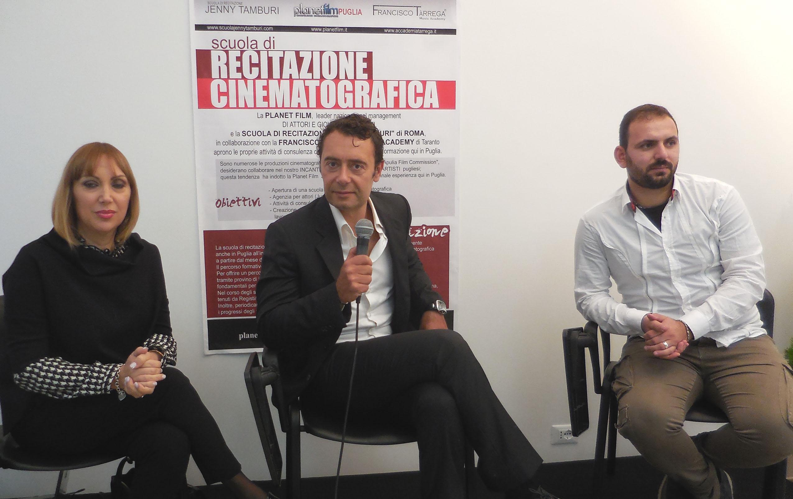 da sx Silvana Moi, Danilo Cesarano e Andrea Manco