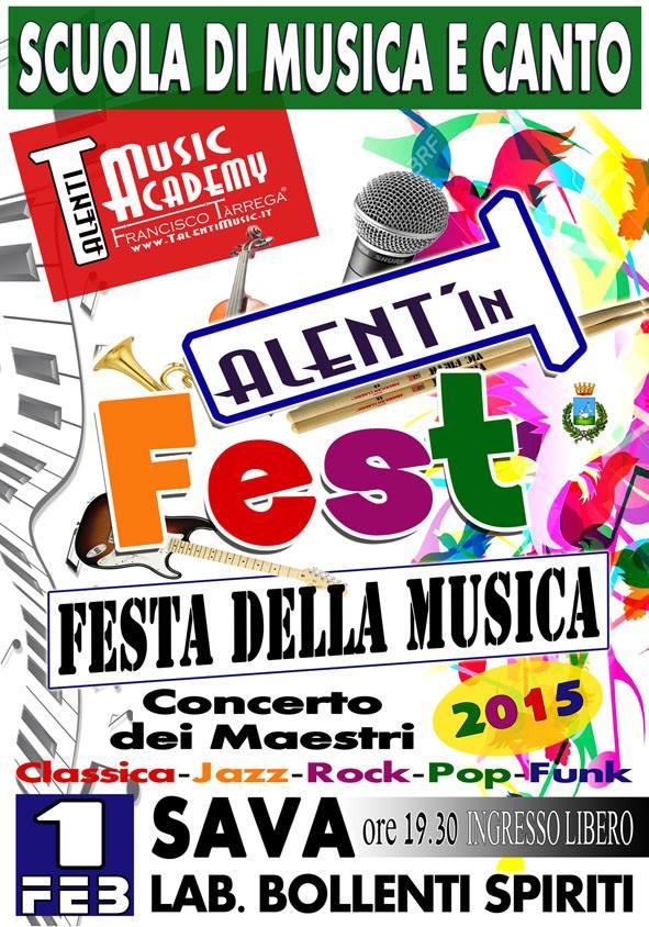 TALENT'In FEST… Infinite espressioni della MUSICA