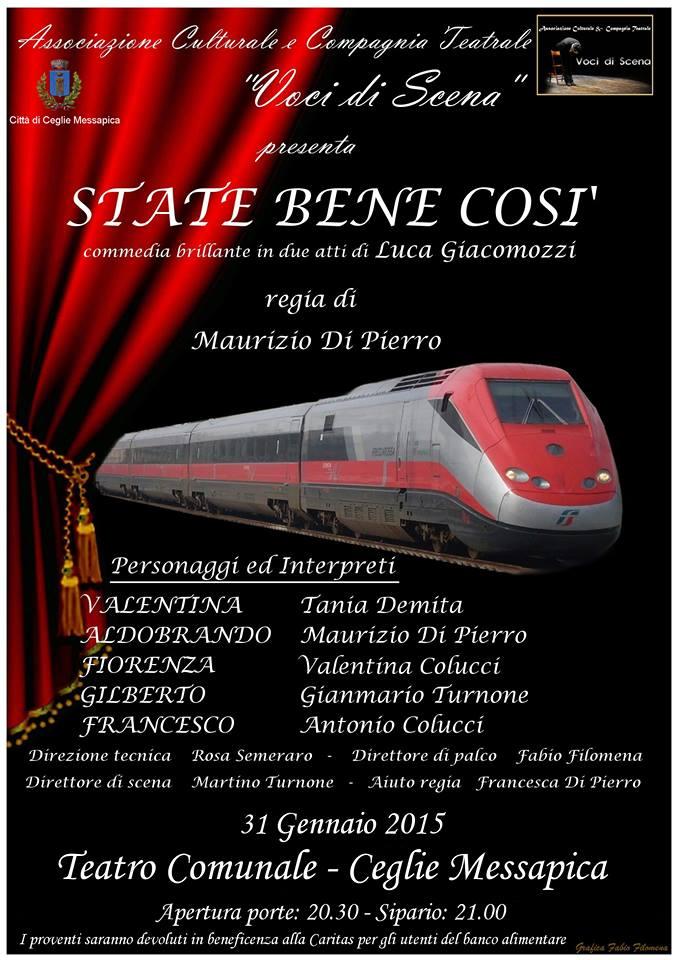Continua il tour della bravissima Compagnia Teatrale Voci Di Scena.