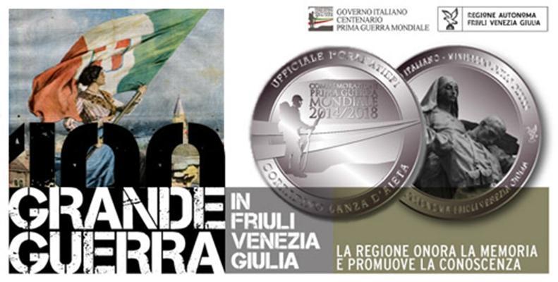 La Regione Friuli Venezia Giulia commemora il Centenario della Grande Guerra con una medaglia ai parenti dei Caduti