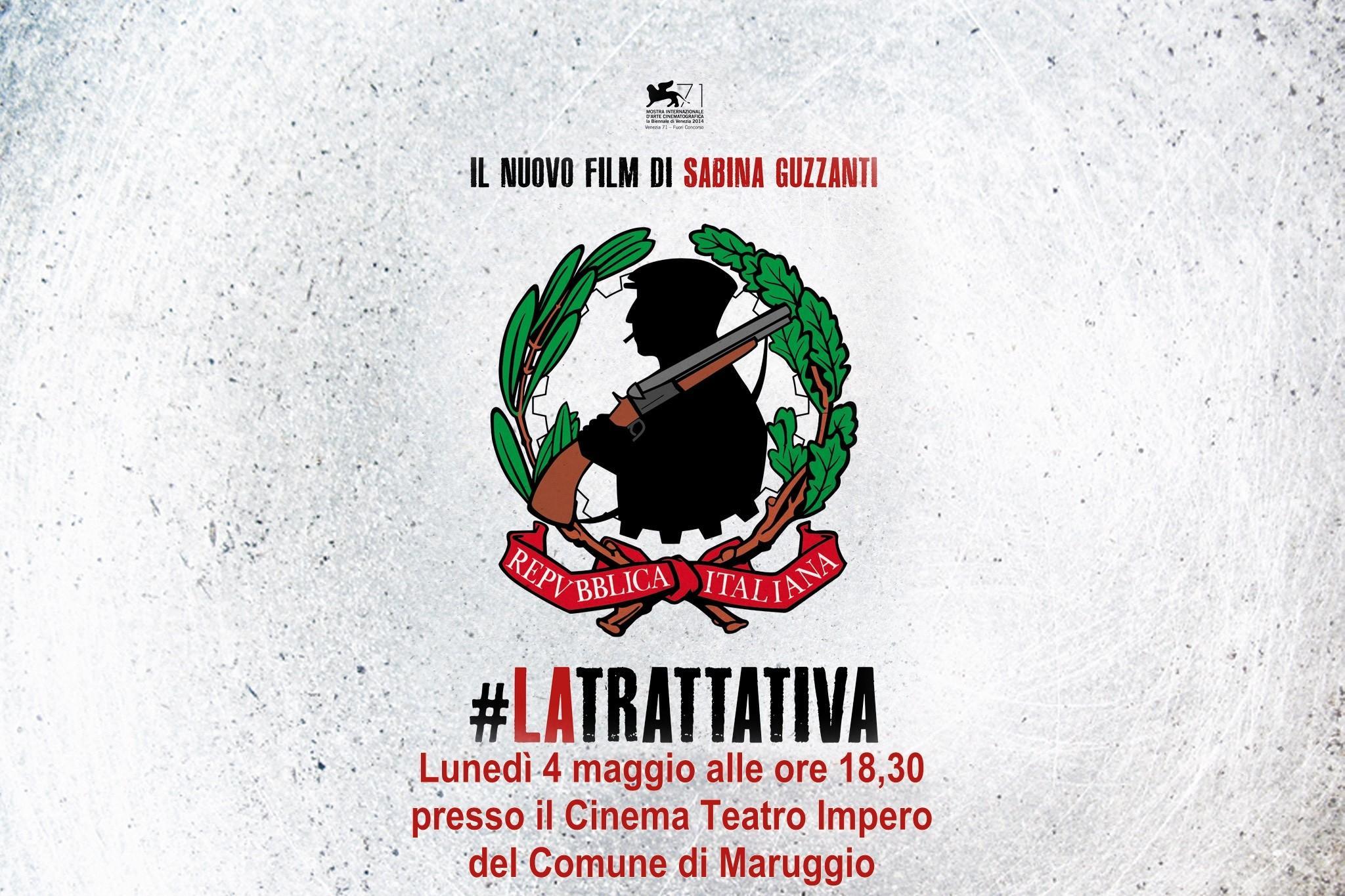 """Maruggio ospita il film """"La Trattativa"""" di Sabina Guzzanti"""