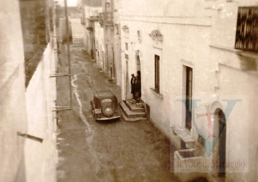 Anno 1945- VEDUTA DI UN POZZO APERTO DI VIA PISANELLI