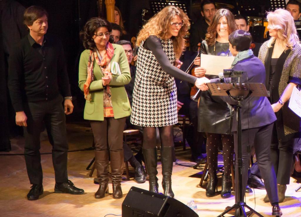 Ass Vozza premia Boccardi in  Vetrine d Arte