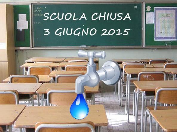 scuola-chiusa 3 GIUGNO