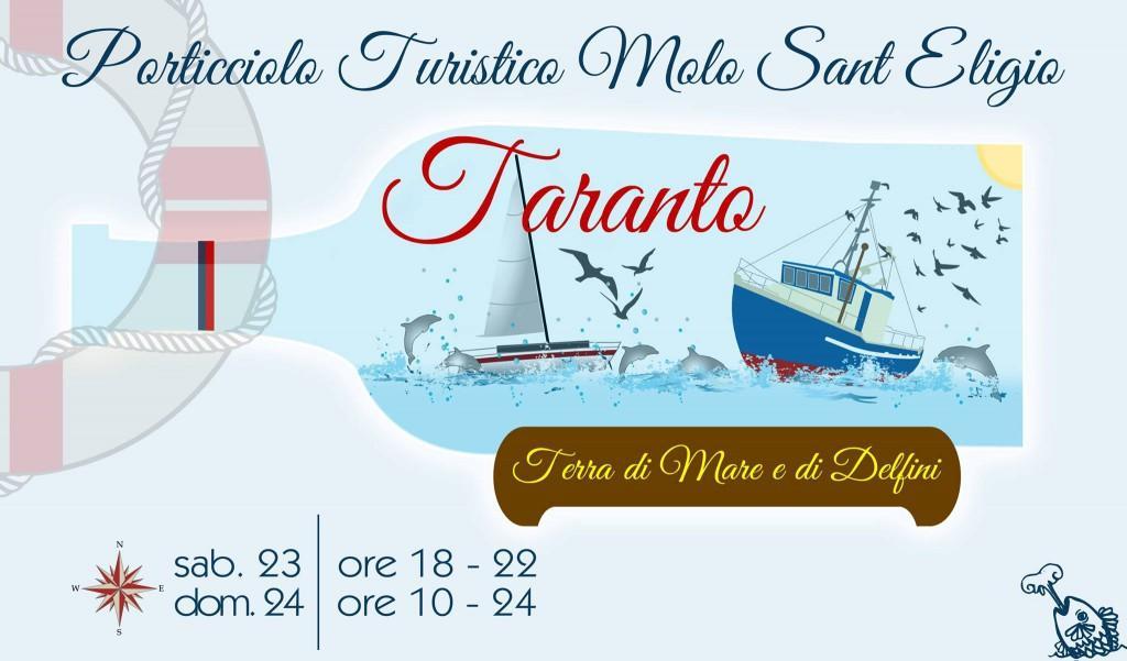"""Al via """"Taranto Terra di Mare e di Delfini"""" due giorni di eventi"""