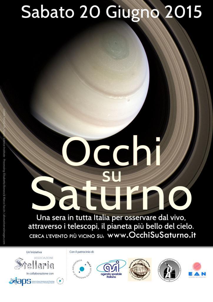 """""""Occhi Su Saturno"""", oltre 100 eventi in tutta Italia per guardare le stelle"""