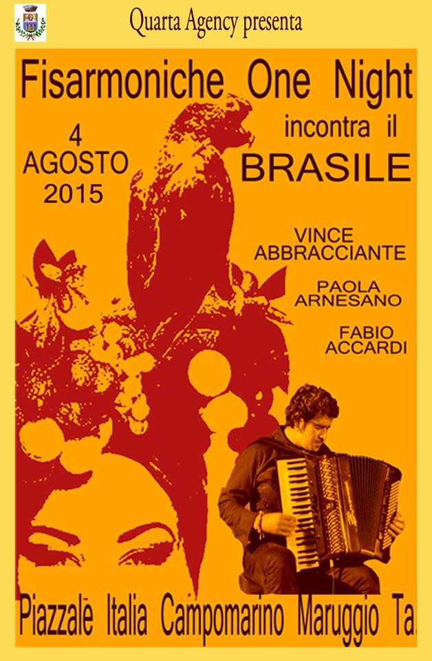 Fisarmoniche One Night incontra il Brasile