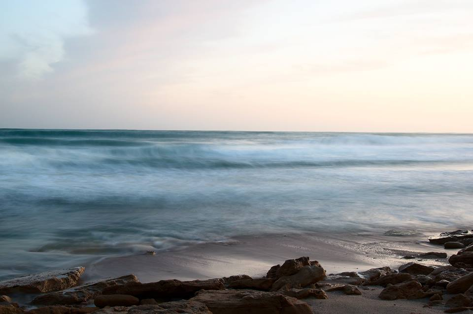 Summer on a solitary beach - Scatto rubato a Tommaso Duggento