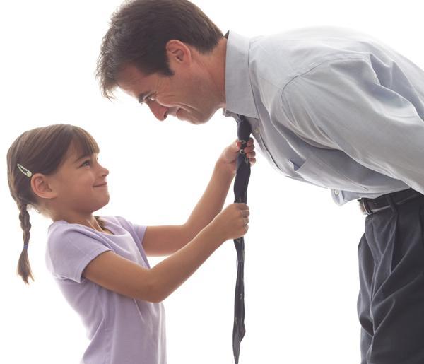 papc3a0-e-figlia-cravatta