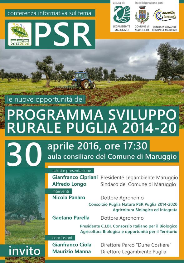 Maruggio - Programma sviluppo rurale puglia