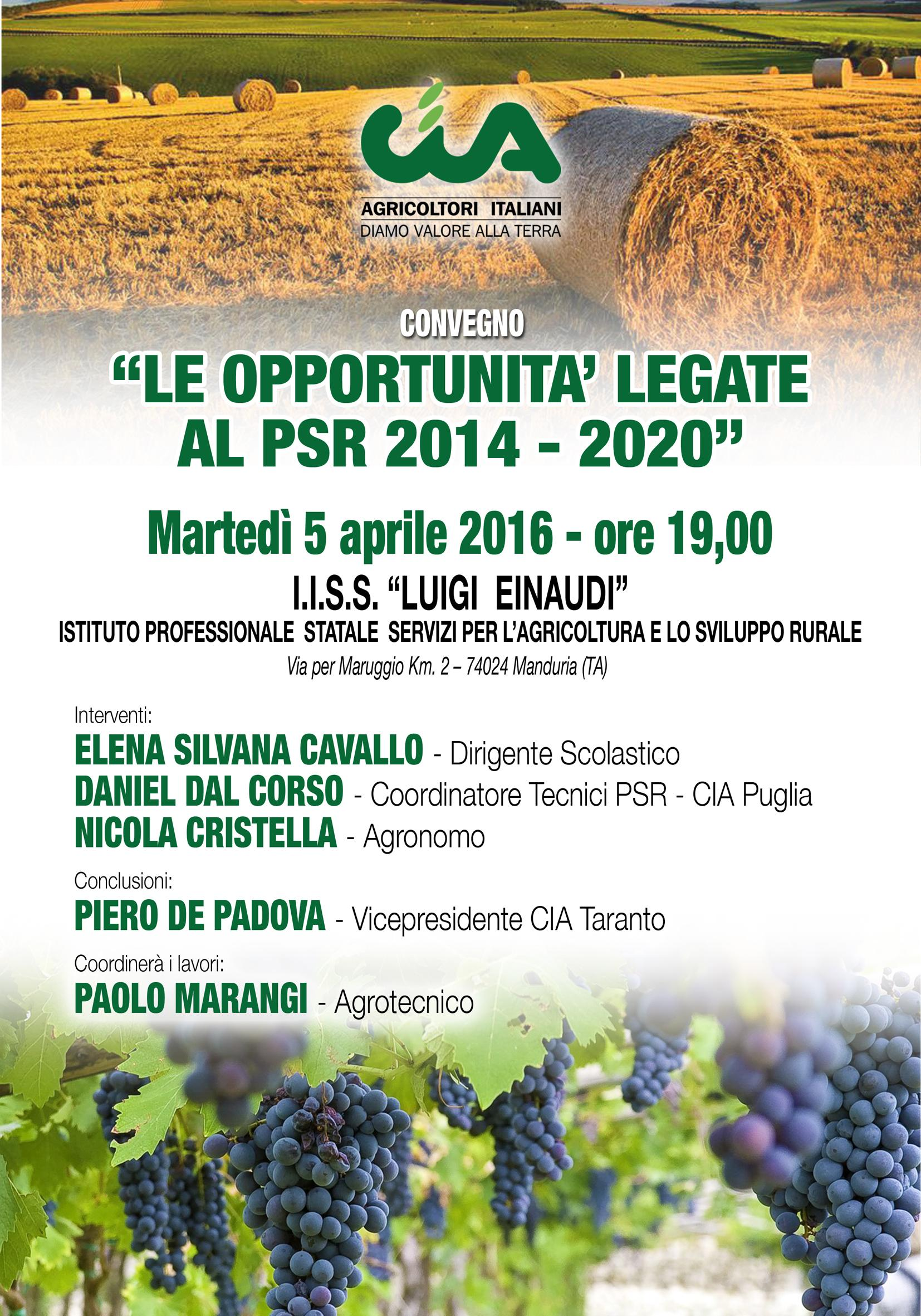 PSR convegno 2016 Manduria
