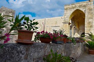 Buongiorno dai balconi in fiore