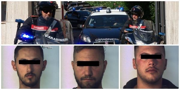 arresti rapina