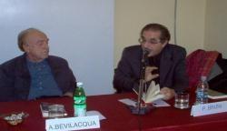 Alberto Bevilacqua e Pierfranco Bruni, 2012