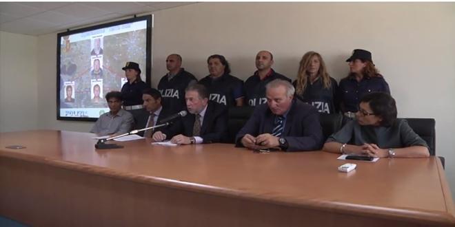 Droga ed estorsioni, arresti della Polizia a Taranto