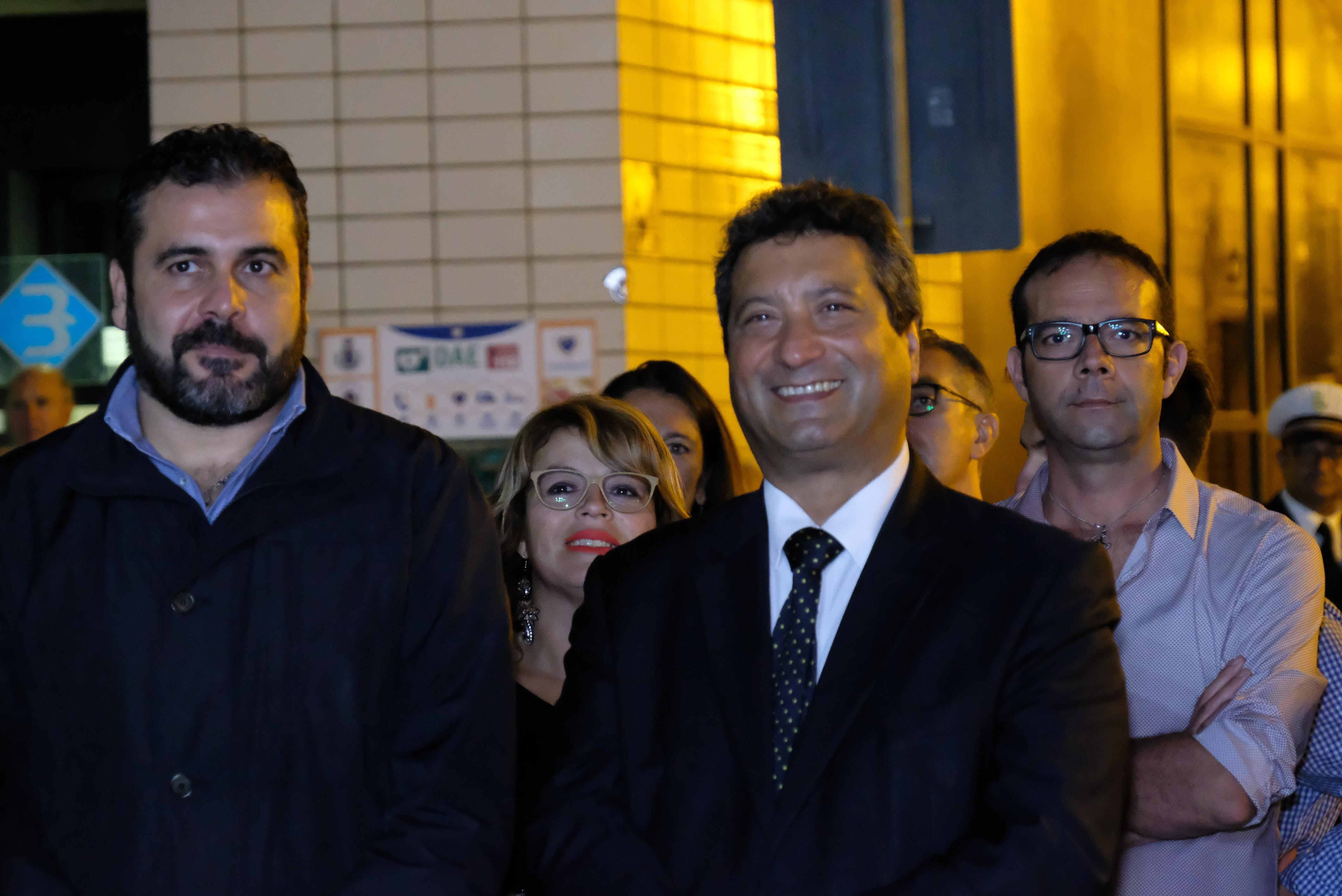 Gavin Giulia con Giovanni Maiorano, vice Sindaco di Maruggio
