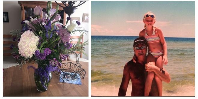 Muore per un tumore, padre Usa regala fiori e una lettera alla figlia a ogni compleanno: