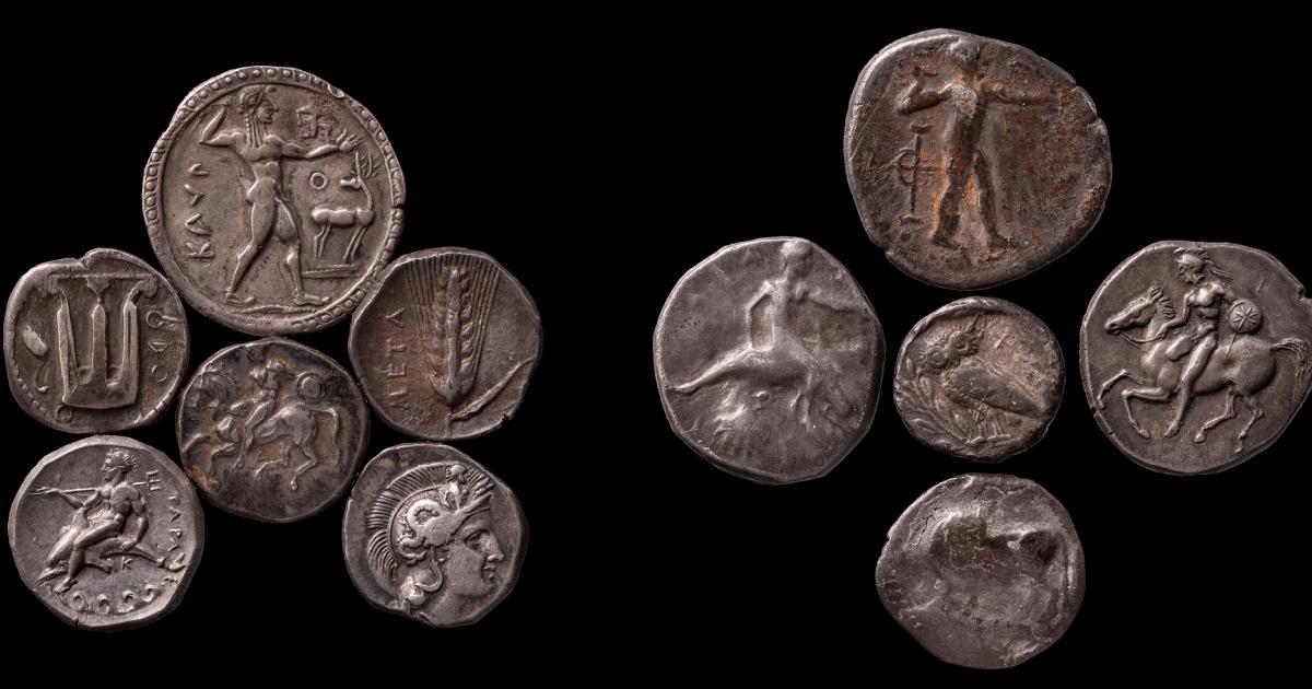 Tesoretto di Lizzano e Maruggio (IV sec. a.C.)  Museo Archeologico Nazionale, Taranto