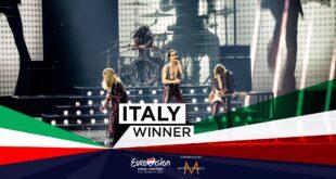 Maneskin vincono Eurovision Song Contest