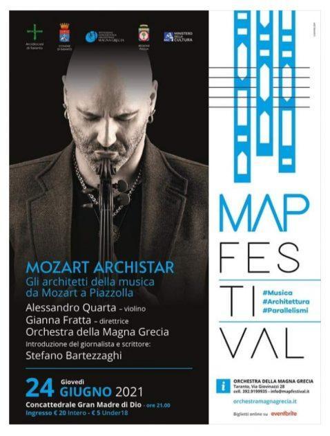 MAP Festival, c'è Alessandro Quarta