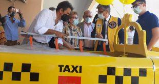 Un taxi barella per i piccoli del SS. Annunziata