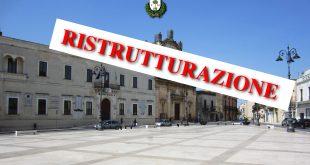 MANDURIA - Restauro del vecchio Palazzo di città, stanziati 5 milioni di euro
